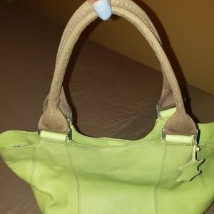 Boden Lime green Bag